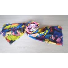 Manufacturer printed soft pashmina scarf