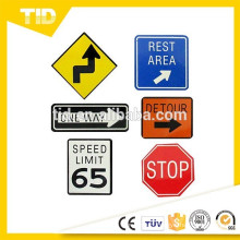 Road Sign Magnets / Favors (6pc)