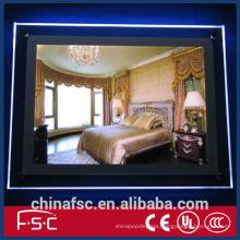 Crystal a1 a2 a3 a4 acrylic slim led poster light box