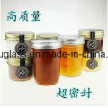Wholesale Glass Pickle Jar with Screw Metal Lid for Preserve, Storage