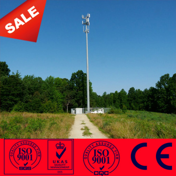 Steel Monopole Gsm Antenna Mast Communication Pole