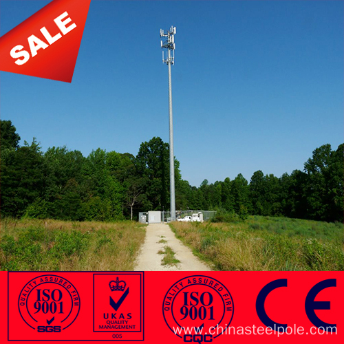 Steel Monopole Gsm Antenna Mast Communication Towers