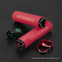Bicycle Grips MTB Silicone Sponge Handlebar Grips Anti-Skid Shock-Absorbing Soft Bike Grips Ultraight Cycling Handlebar