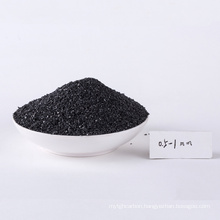 China ISO certificate filter anthracite for dual media filter