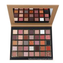 2021 Animal Matte Glitter Eyeshadow Palette Customize Makeup Palette Private Label Eyeshadow Palette