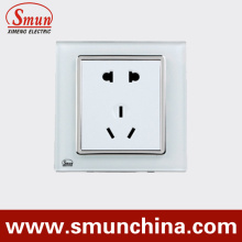 Wall Socket 2 Pole USA Socket, 3 Poles UK Socket,