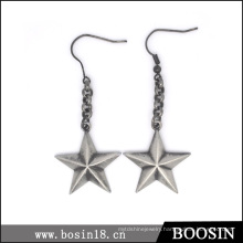 Fashion Vintage European Style Lucky Star Earring for Women #21596