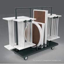 Chariot de stockage moderne de table de buffet / table de buffet (DE56)
