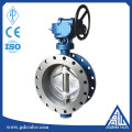 flange type electric butterfly valve with hard seal