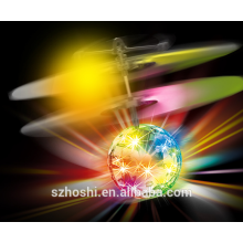 Hot FlyIing Ball Helicopter With Sensor Colorful Flash Disco ball Remote Control Toy As Gift