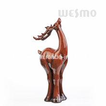 Polyresin estátua de mesa de renas (WTS0009A)