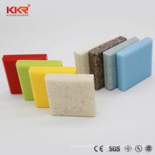 2018 KKR pierre d'ingénierie marbre couleur acrylique solide surface