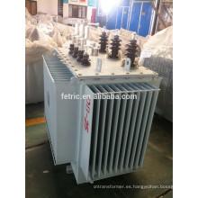 Herida total cobre distribución transformadores 6.6kv en baño de aceite /415v