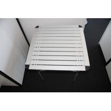 Topsales aluminium poids léger pique-nique en plein air Table pliante (QRJ-Z-002)