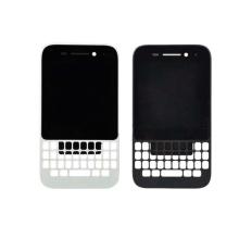 ЖК-экран и цифрователь с рамкой для Blackberry Q5 Black White