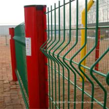 Geschweißter Maschen-Platten-Zaun benutzt für Bau