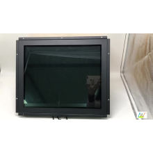 High resolution 1920X1080 open frame LCD 15 inch monitor with USB powered touch screen