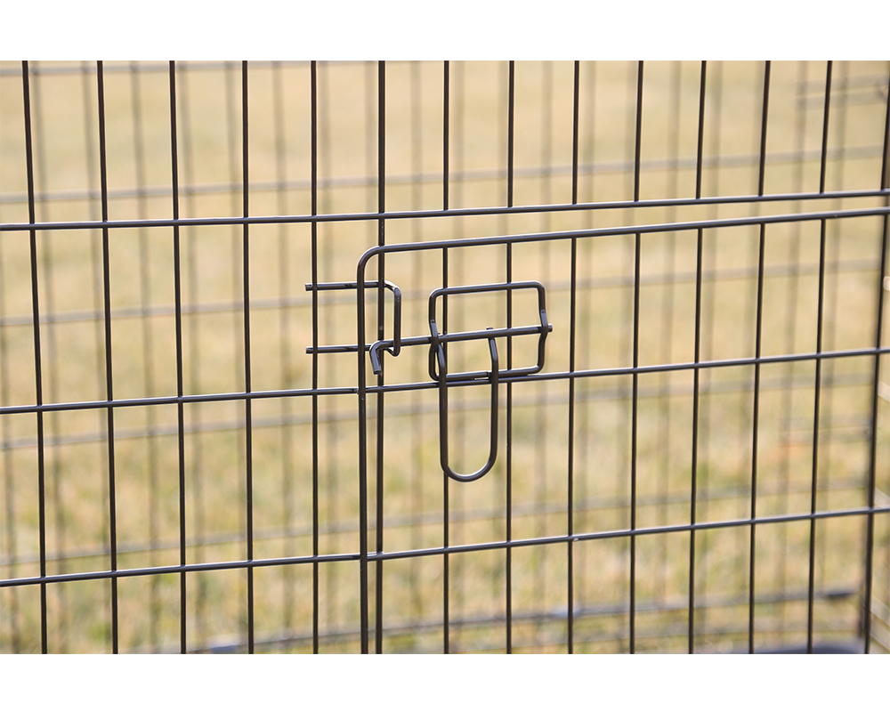 Double Door Pet Dog Cage