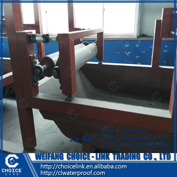 automatic SBS APP bitumen waterproof membrane making equipment