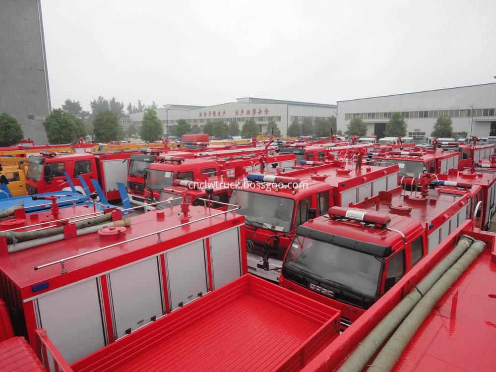 fire truck in stock