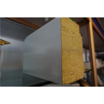 Super Thick Rockwool Isolierte Sandwich Panels Feuer Verhinderung Board