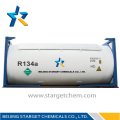 R134A Refrigerant Gas in Bulk ISO Tank for Cooling Y