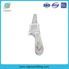 Special for Wire Rope Fittings Galvanized Malleable Iron Wedge Type Strain Clamp supply to Cameroon Wholesale