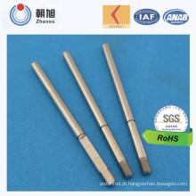 Eixo de aço inoxidável padrão da ranhura 6 dos produtos novos do ISO do fornecedor de China