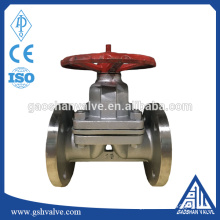 stainless steel manual PTFE diaphragm Valve