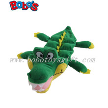 11.8inch Plush Pet Dog Toy Green Crocodile with Squeaker Bosw1058/30cm