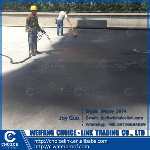 colorful two component PU waterproof coating