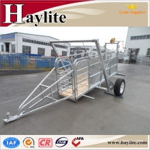 Galvanized Cattle Panel trailer
