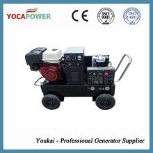Gerador elétrico 50Hz / 60Hz Gasolina com soldador e compressor de ar