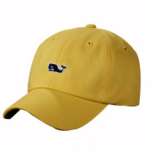 Cotton Baseball Cap with Logo Embroidery
