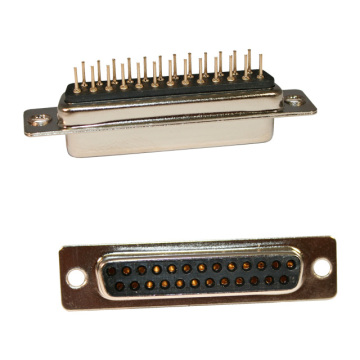 D-SUB FEMALE Straight PCB Maschinenstift