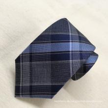 100% Mode Import Seide Plaid Benutzerdefinierte Männer Krawatten