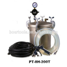 10L Paint Tank with spray gun Teflon coating anti-corrosion