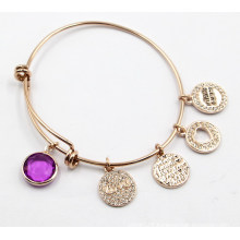 Adjustable Size Bracelet with Custom Made Charms
