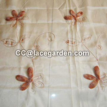 Chain Embroidery Fabric