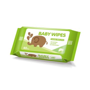 Eco Friendly Flushable Baby Wet Wipes