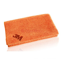 orange face towel with microfiber fabric/cotton hight quality