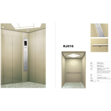 Small Machine Room Passenger Elevator with Painted Steel