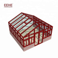 Insulated Glass Aluminum Profile Sun Room Glass Winter Garden / Sun Roof for House