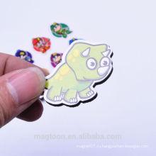 Милый дизайн динозавра умирают вырезать EVA резиновые магниты на холодильник стикеры для детей рекламные игрушки