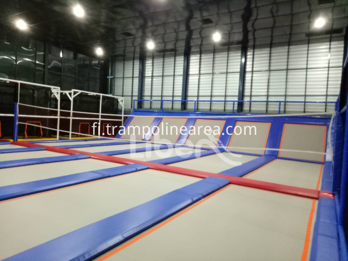 trampoline park business