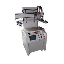 Flachsiebdruckmaschine mit T-Nut-Tisch