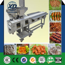 Máquina de broche de carne automática elétrica de alta eficiência Máquina de broche de churrasco