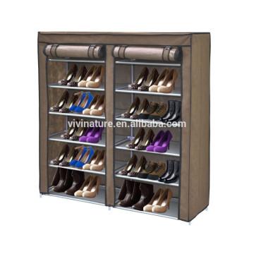 crémaillère faric non tissé chaussures rack et chaussures de stockage