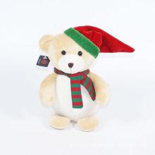 Plüsch Mütze Bär Weihnachtsschmuck