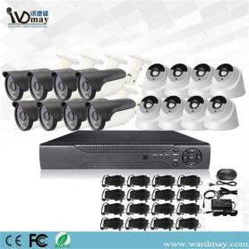16chs 2.0MP Security Real Surveillance Alarm DVR-systeem